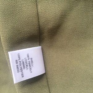 Banana Republic Dresses - Banana republic accacia wrap dress green 2 small